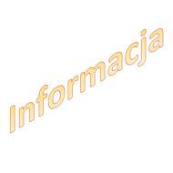 "plakat z napisem ""informacja"""