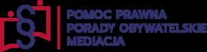 """logo """"pomoc prawna porady obywatelskie mediacja"""