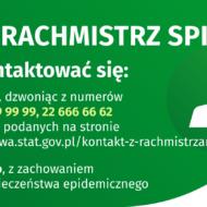 ulotka na temat kontaktu Rachmistrza
