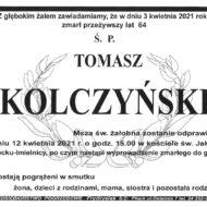 Klepsydra zawierająca informacje o pogrzebie sekretarza